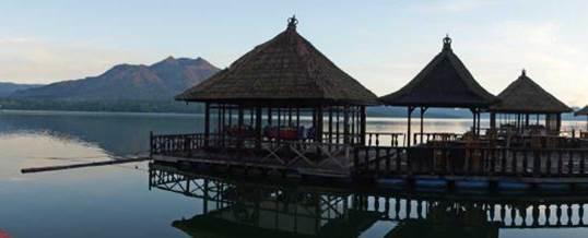 Paket Outbound Bali Restaurant Apung Kedisan Kintamani