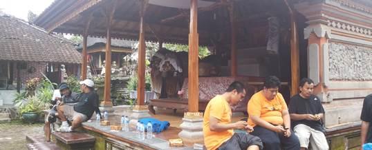 Tema Gathering Kantor Perusahaan Bersepeda Di Bali