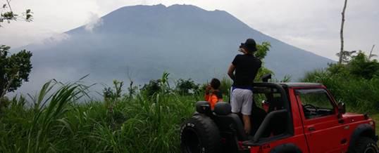 Offroad Bali Pemandangan Gunung - GGA1