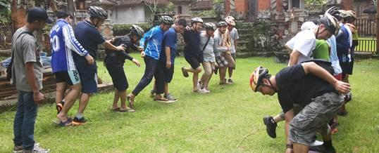 Outbound Bali Amazing Race TB Bongkasa 3