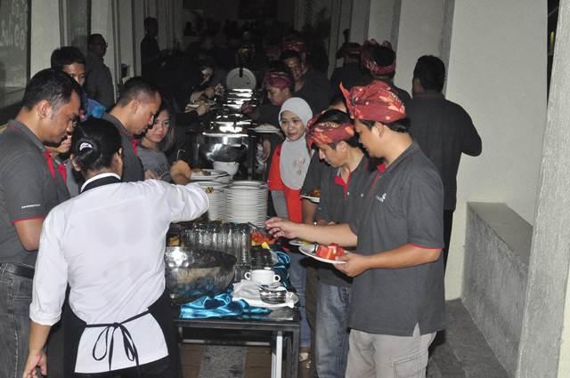 Outbound Bali Dinner GWK - Lintasarta 7