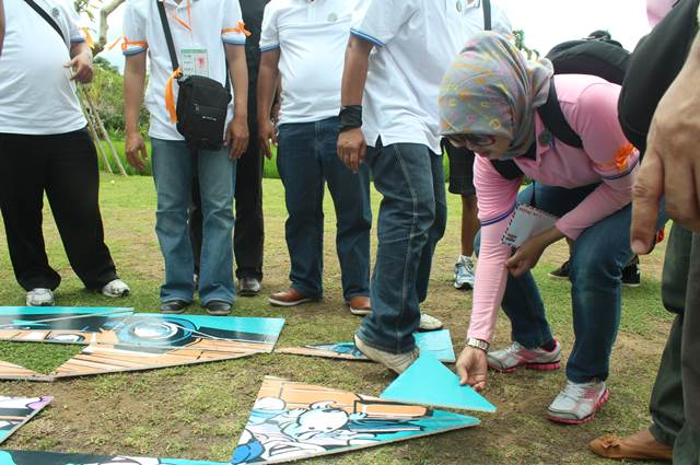 Outbound Di Bali Amazing Race Lintasarta 13
