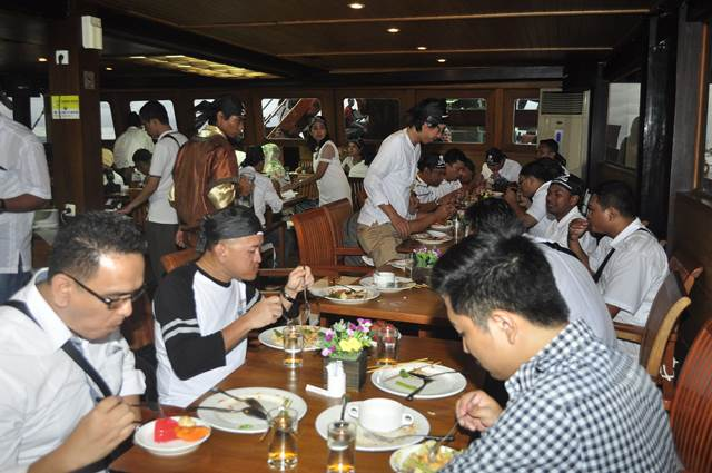 Outbound Di Bali Sunset Dinner - Lintasarta 10