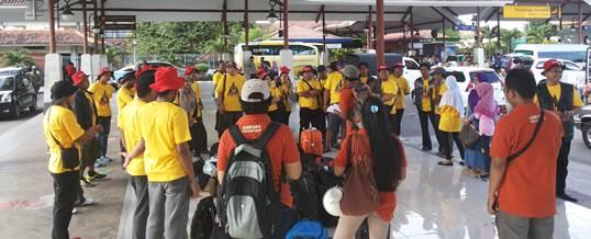 Amazing Race Di Bali Start Point Bandara Briefing