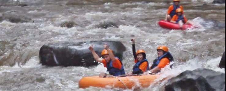 Ayung River Tubing Armada Adventure Ubud Camp