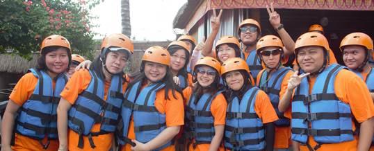 Bali Gathering Bogasari Surabaya