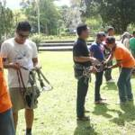 Presiapan Outbound Di Bdeugul WWF