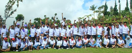 Outbound di Bali Agro Puncak Group