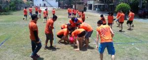 Outbound di Bali - The Susshi Bar Game Line