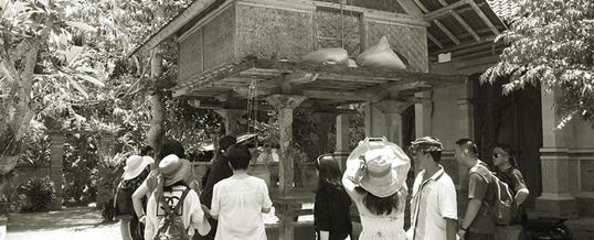 Outing di Bali - Rumah Lumbung Desa Bongkasa