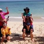 Fun Team Building - HSBC Jakarta - Pantai Padang Padang Bali 4