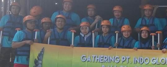 Gathering Tema Wisata Adventure Rafting - PT. Indo Global Trade 10