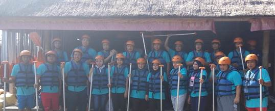 Gathering Tema Wisata Adventure Rafting - PT. Indo Global Trade 2