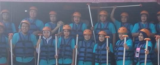 Gathering Tema Wisata Adventure Rafting - PT. Indo Global Trade 3