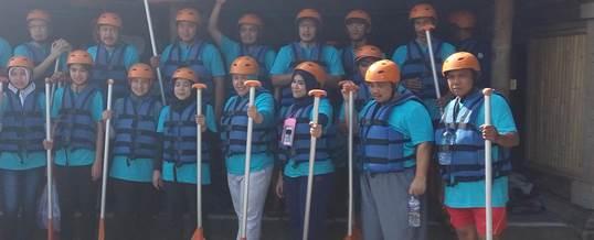Gathering Tema Wisata Adventure Rafting - PT. Indo Global Trade 4