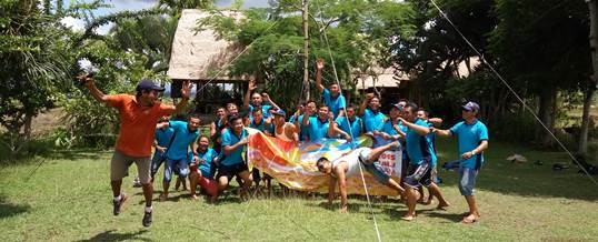 Outbound Team Building Game - PT Tri Wahana Universal II 1