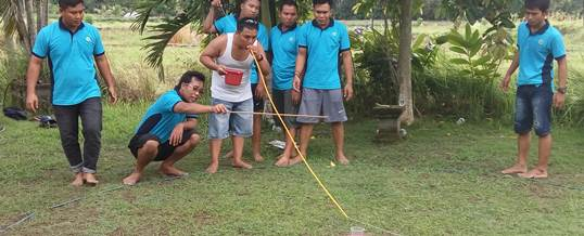 Outbound Team Building Game - PT Tri Wahana Universal II 4