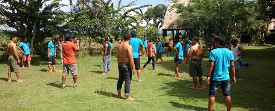 Outbound Team Building Game - PT Tri Wahana Universal II 9
