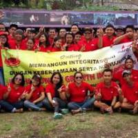 Outbound di Bali Ace Hardwere Supporting Toya Devasya