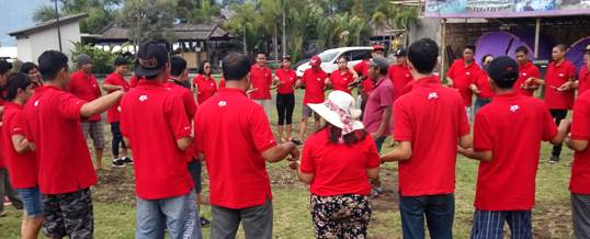 Outbound di Bali Ace Hardwere - Toya Devasya - 0329022016