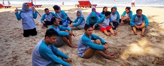 Outbound di Bali Transforming Human Resource 08