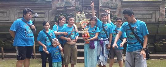 Outbound di Bali VW Amazing Race & Rafting - PT. Viros Prime Solution 7