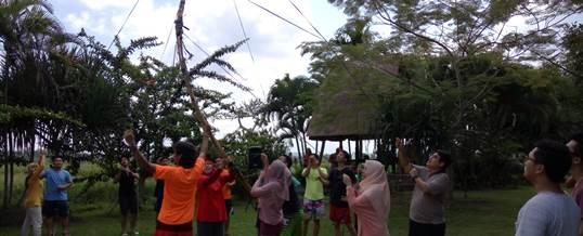 Outbound di Fun Team Building - Bank Mandiri Jakarta 2006168