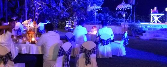 Outbound di Pantai & Single Electone Gala Dinner - Telkomsel Jakarta 5