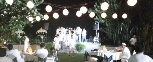 Outbound di Pantai & Single Electone Gala Dinner - Telkomsel Jakarta 8