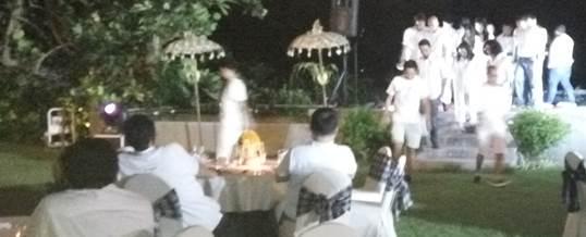 Outbound di Pantai & Single Electone Gala Dinner - Telkomsel Jakarta 9