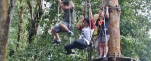 Outbound di Bali Treetop Kebun Raya Bedugul 11