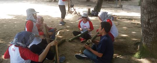 Outbound di Bali - Pantai Mertasari Sanur - International Finance Corporation 19111615
