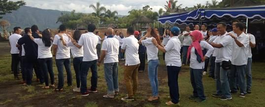 Outbound Team Building Bank Mandiri, Kanwil Denpasar, Bali