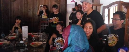 Paket Bali Outbound Land Rover Amazing Race - Exclusive Networks & F5 - Lunch