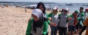 Outbound Fun Team Building Bali - Supporting Kaisa Travel Jaya Tour - BNI 46 Divisi SPI