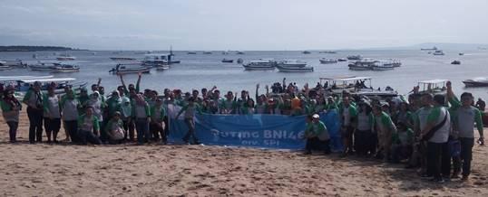 Team Building Pantai Tanjung Benoa Kaisa Travel Jaya Tour