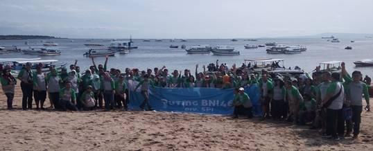 Team Building Pantai Tanjung Benoa - Supporting Kaisa Travel Jaya Tour - BNI 46 Divisi SPI - Foto Sesi