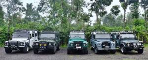Outbound di Bali The Bali Kuno - Amazing Race Land Rover