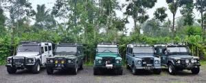 Outbound di Bali The Bali Kuno - Amazing Race Land Rover