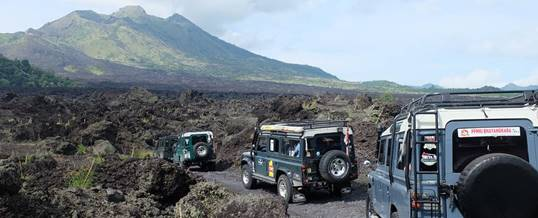 Outbound di Bali The Bali Kuno - Land Rover Adventure Tour