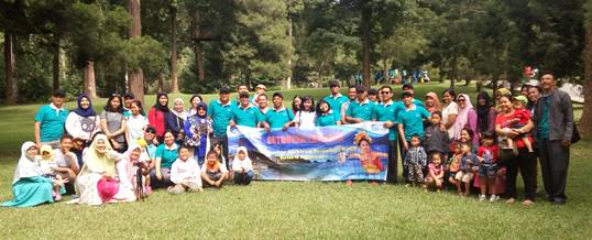 Outbound di Kebun Raya Bali - Supporting Bugs Training Center 180520171