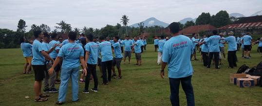 Bali Outbound - Central Proteina Prima 2018 - Ice Breaking Kumpul
