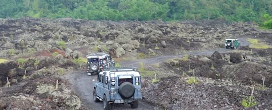Outbound di Bali Nuansa Adventure Land Rover - Toya Bungkah