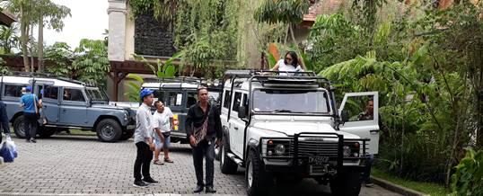 Outing Bali Land Rover Adventure – Pertamina Jakarta