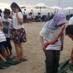 Outbound Team Building Pantai Bali - Alumni ITS 3006201810