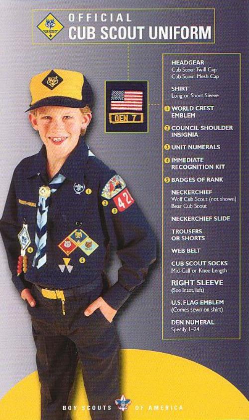 Public Uniform Cub Scout Pack 85 Armada Michigan