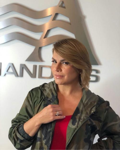 Olga Tañon visited us at Salon Armandeus Orlando
