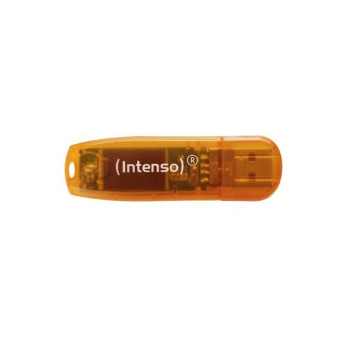 USB PENDRIVE 64GB 2.0 RAINBOW INTENSO