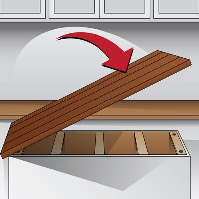 How to join butcher block countertops bstcountertops for Butcher block installation