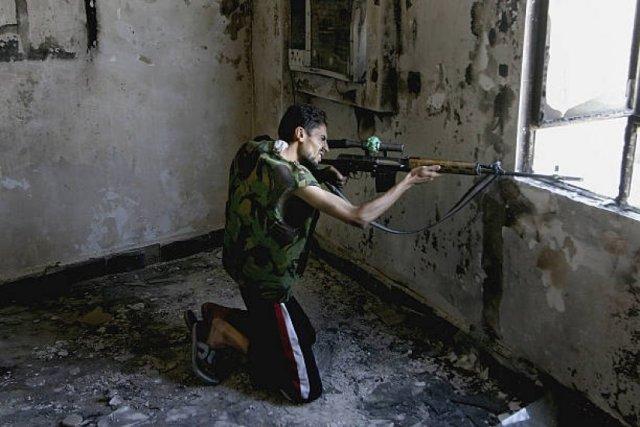 La insurgencia utiliza los recursos de francotirador disponibles